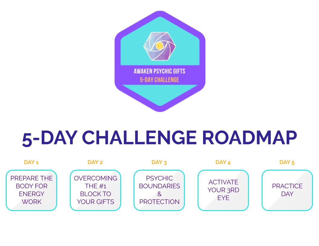 Awaken Psychic Gifts Challenge Roadmap Psychic Training Course