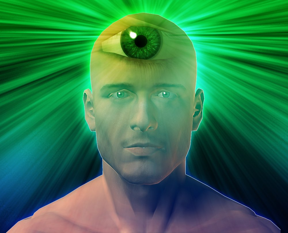 opening the psychic third eye chakra photo