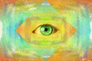 To view your psychic third eye